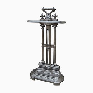 Victorian Cast Iron Umbrella Stand, 1870s