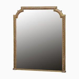 Specchio vittoriano dorato, fine XIX secolo