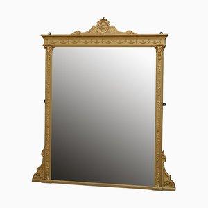 Viktorianischer Spiegel mit vergoldetem Holzrahmen, 1880er