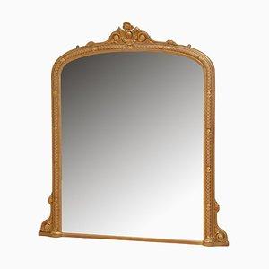 Victorian Overmantel Mirror, 1870s