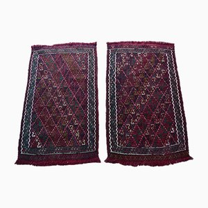 Small Vintage Oushak Rugs, 1970s, Set of 2