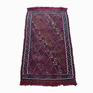 Kleiner türkischer Teppich mit pastellfarbenem Bereich, 1970er