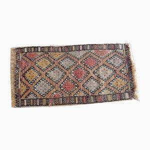 Türkischer Cicim Vintage Teppich mit geometrischem Muster, 1970er