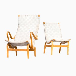 Pernilla Chairs by Bruno Mathsson for Firma Karl Mathsson, Set of 2
