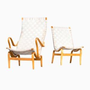 Pernilla Chairs by Bruno Mathsson for Firma Karl Mathsson, Set of 2