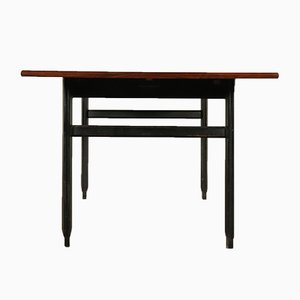 Vintage Italian Rosewood Extendable Table, 1960s