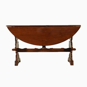 Table de Salle à Manger Antique en Noyer