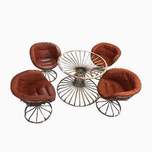 Pan Am Esstisch & Stühle von Gastone Rinaldi für Rima, 1960er