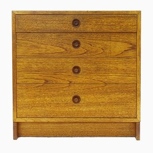 Vintage Scandinavian Oak Chest of Drawers by Børge Mogensen for Karl Andersson & Söner, 1960s