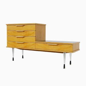 Vintage Asymmetric Chest of Drawers