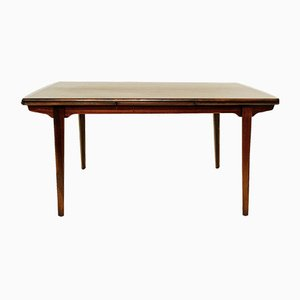 Vintage Extending Rosewood Dining Table by Kai Kristiansen