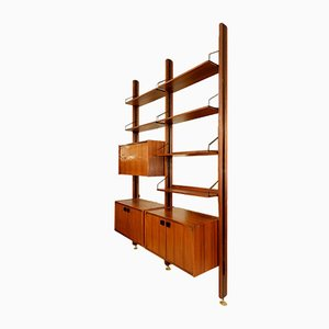 Rosewood Claustra Wall Unit, 1960s