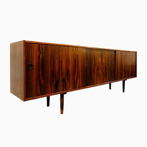 Rosewood Sideboard with 3 Sliding Doors, 1960s