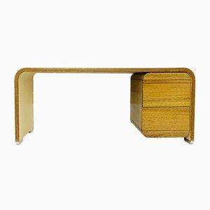 Weißer Mid-Century Schreibtisch von Bergwood, 1970er