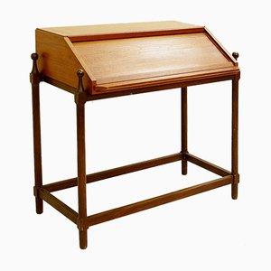 Kleiner Mid-Century Sekretär aus Holz