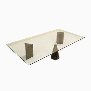Tavolino da caffè Metafora di Lella & Massimo Vignelli per Martinelli Luce, anni '70