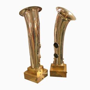 Vintage Tischlampen, 2er Set