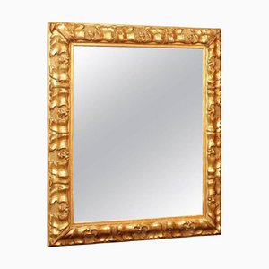Napoleon III Period Wood and Stucco Gilded Mirror