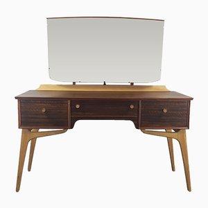 Coiffeuse Mid-Century Vintage par Alfred Cox pour AC Furniture