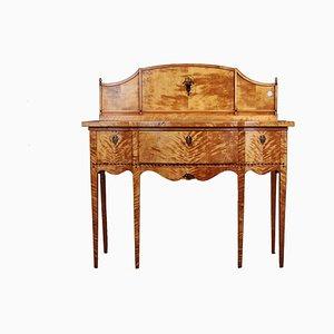 Antique North European Birch Console Table