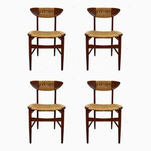 Chaises de Salle à Manger, Suède, 1960s, Set de 4
