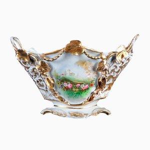 Antique White Porcelain Centerpiece