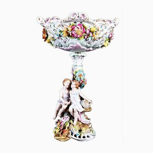 Antique German Porcelain Centerpiece