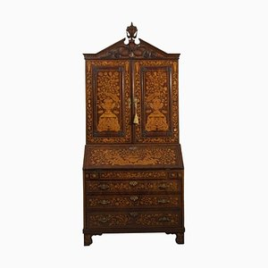 Antique Mahogany Inlaid Cabinet