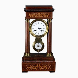 Antique Charles X Rosewood Clock
