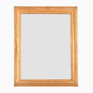 Espejo antiguo rectangular