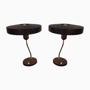 Lampade da tavolo di Louis Kalff per Philips, anni '60, set di 2