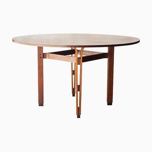 Table Olbia en Palissandre par Ico & Luisa Parisi pour MIM, 1958