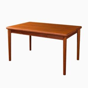 Mesa de comedor de teca, años 60