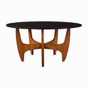 Mesa de centro de teca, años 60