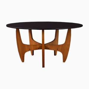 Table Basse en Teck, 1960s
