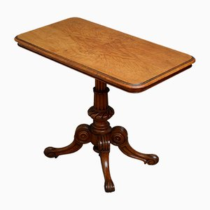 Antique Victorian Pollard Oak Side Table from Constantine and Co.
