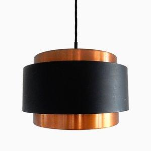 Lampe à Suspension Saturne Mid-Century par Johannes Hammerborg pour Fog & Mørup, 1960s
