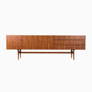 Sideboard aus Nussholz von Musterring International, 1960er