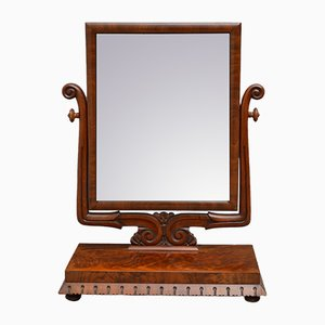 Antique William IV Mahogany Mirror