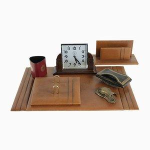 Vintage Pendulum Schreibtischutensilien Set, 1940er