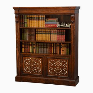 Antique William IV Rosewood Bookcase