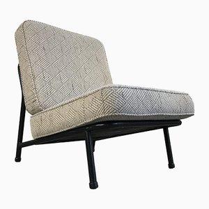 013 Armlehnstuhl aus Stahl und Wolle von alf svensson für Artifort, 1950er