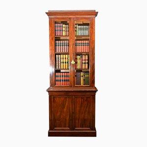 Antikes viktorianisches Bücherregal von Dovestone, Bird & Hull