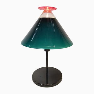 Pallavah Murano Glass Table Lamp by Ettore Sottsass for Venini, 1990s