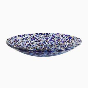 Centre de Table Guglie T40 en Verre de Murano Bleu Clair par Stefano Birello pour VéVé Glass