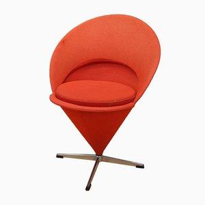 Kegelförmiger K1 Sessel von Verner Panton, 1950er