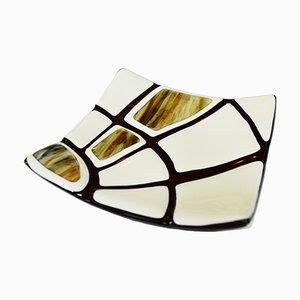 Jurassico Q20 Schale aus Muranoglas von Stefano Birello für VéVé Glas