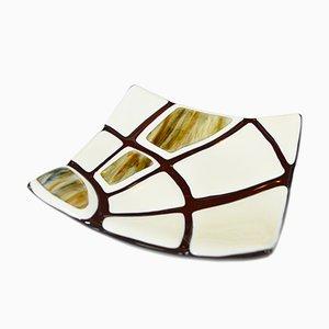 Jurassico Q25 Schale aus Muranoglas von Stefano Birello für VéVé Glas