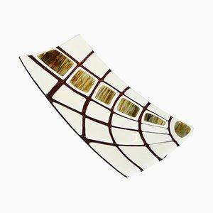 Jurassico R40 Schale aus Muranoglas von Stefano Birello für VéVé Glas