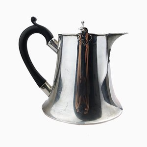 Antique Silver Plated Art Nouveau Chocolate Pot / Lidded Jug from Marplers & Co
